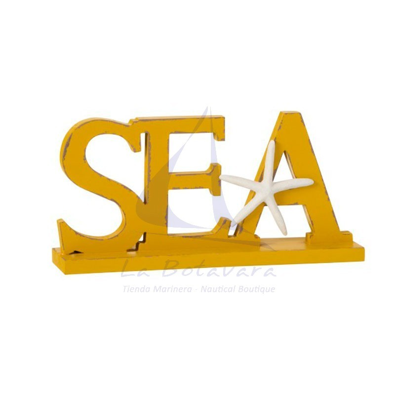 Yellow Sea figure for seaside decoration