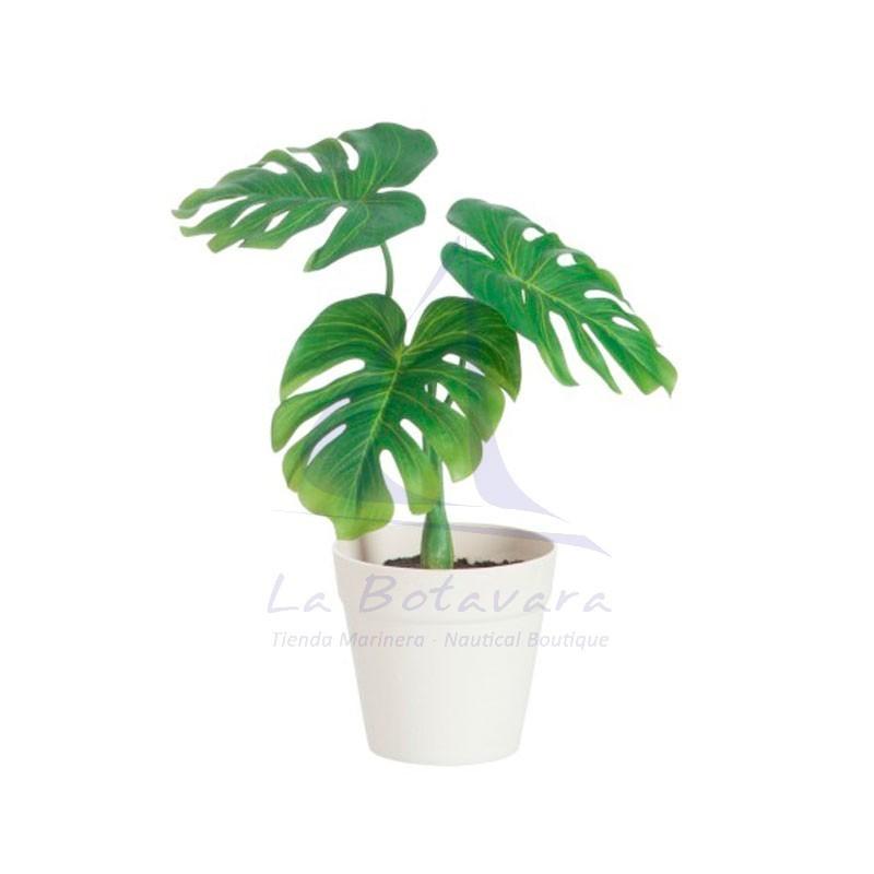 Planta artificial philodendron en maceta