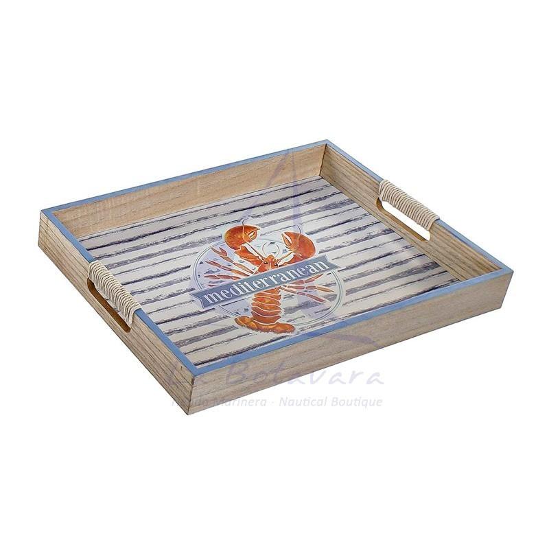 Lobster seaside tray