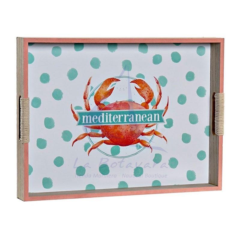 Crab seaside tray 2