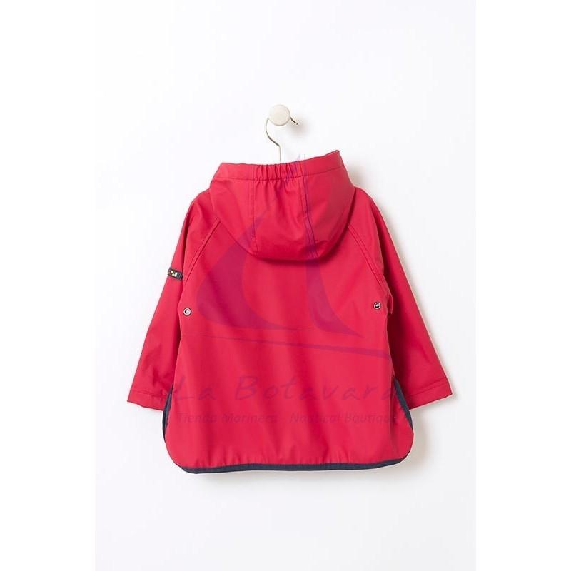 BABY'S RED BATELA RAINCOAT 4