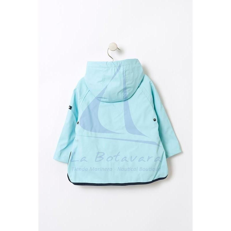 BABY'S BLUE BATELA RAINCOAT 4