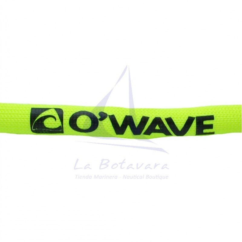 Yellow O'Wave glassfloat eyewear retainer 2