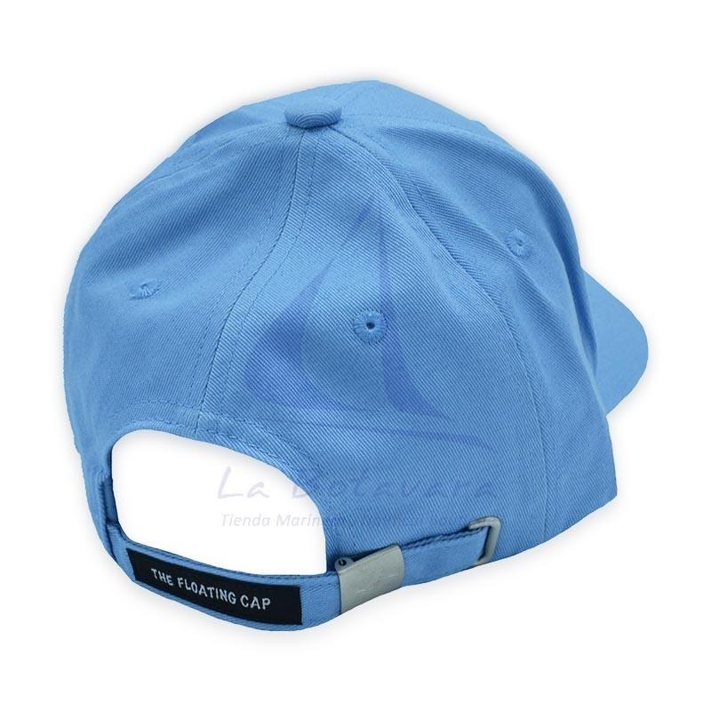 Gorra flotante de algodón celeste 2
