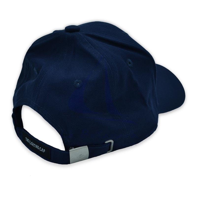 Gorra flotante de algodón azul marino 2