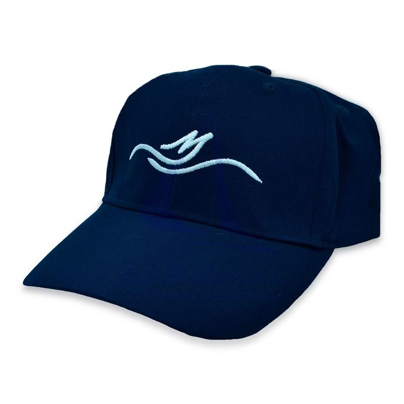 Navy blue Floating cotton cap
