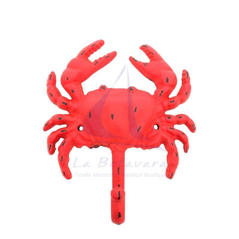 Cast orange crab hanger