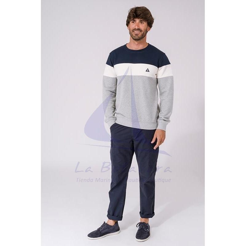 Tricolor Batela sweatshirt for man 2