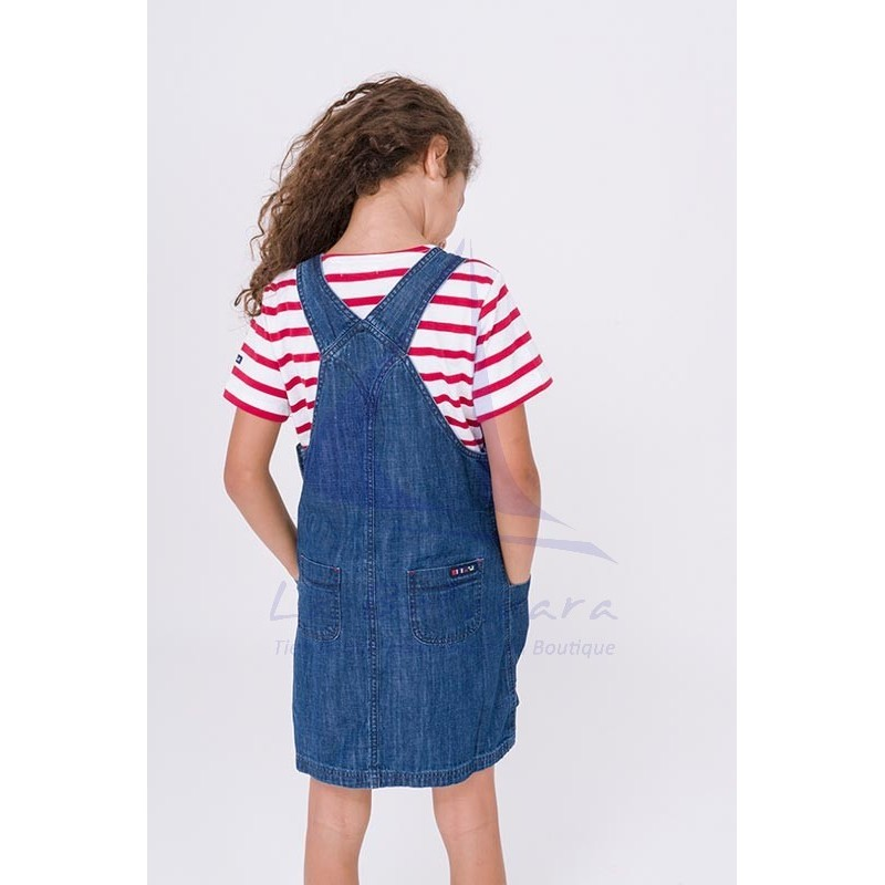 Batela denim overalls for girl 4