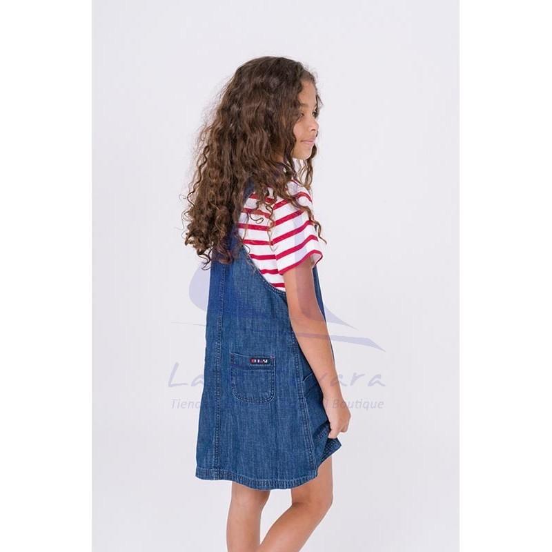 Batela denim overalls for girl 3