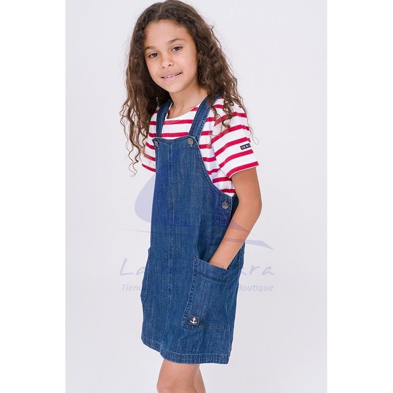 Batela denim overalls for girl 2