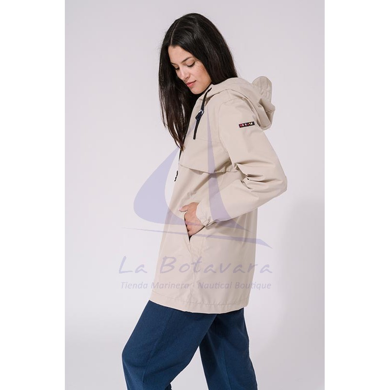 Sand Batela waterproof women's raincoat with heat-sealed seams 3