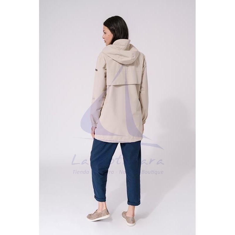 Sand Batela waterproof women's raincoat with heat-sealed seams 2