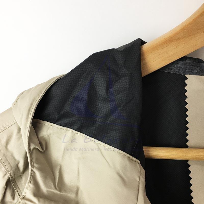 Sand Batela waterproof women's raincoat with heat-sealed seams 5
