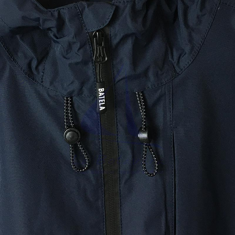Navy blue Batela waterproof men's raincoat with heat-sealed seams 3
