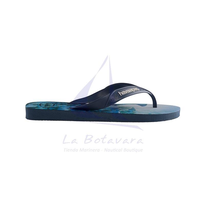 Indigo blue Havaianas surf flip flops 3