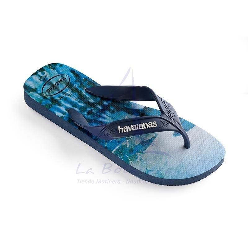 Indigo blue Havaianas surf flip flops 2