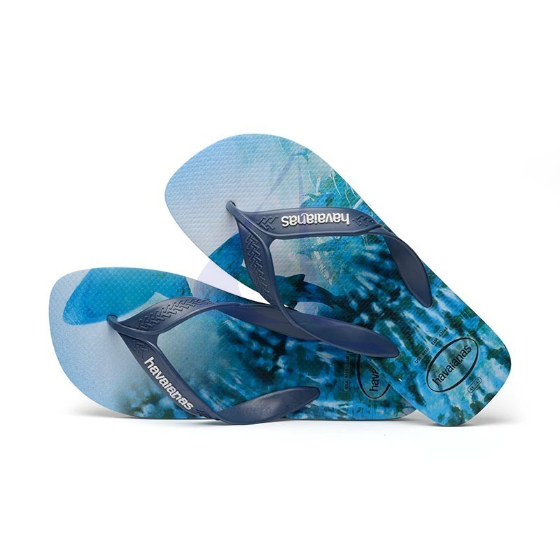 Indigo blue Havaianas surf flip flops 4