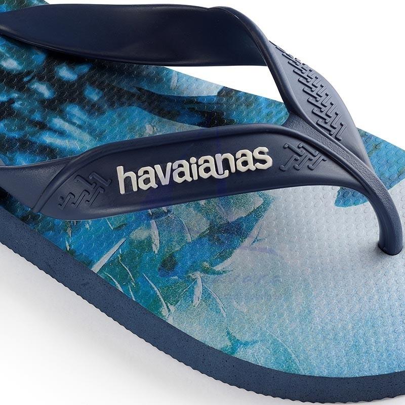 Indigo blue Havaianas surf flip flops 5