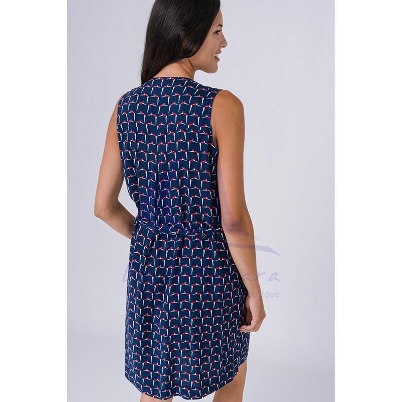 Retro Women's Batela Sleeveless Dress 2