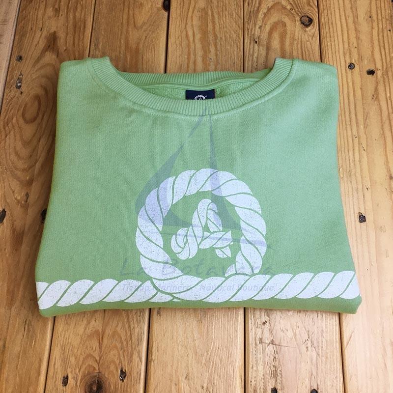 Green Amarras sweatshirt Caños