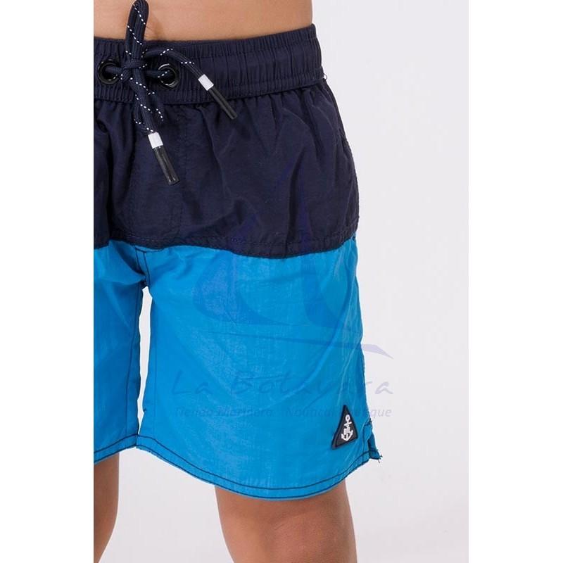 Navy blue & ocean blue Batela boy's swimsuit 2
