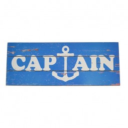 PLACA AZUL CAPTAIN