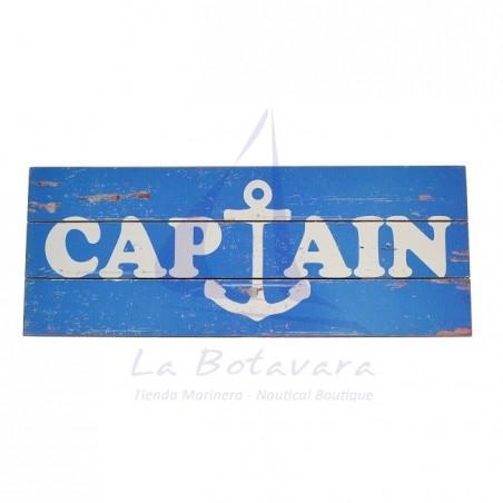 BLUE CAPTAIN TABLE