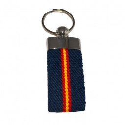 NAVY BLUE SPAIN KEYCHAIN