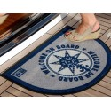 ALFOMBRILLA WELCOME ON BOARD AZUL