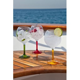 6 GIN TONIC GLASSES