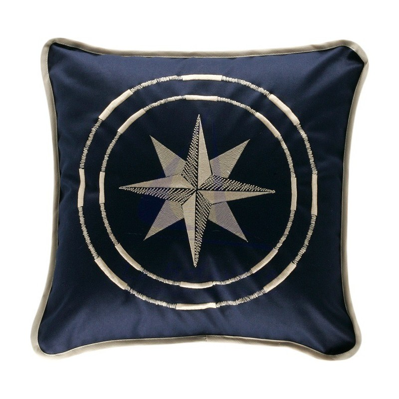 CLASSIC BLUE NAVY CUSHION 40X40CM