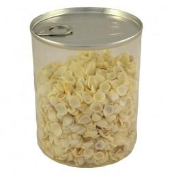 """Lata de conchas blancas mini """"Abre fácil"""""""