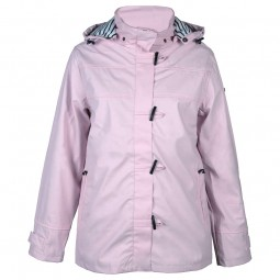 WOMEN'S BATELA PINK RAINCOAT