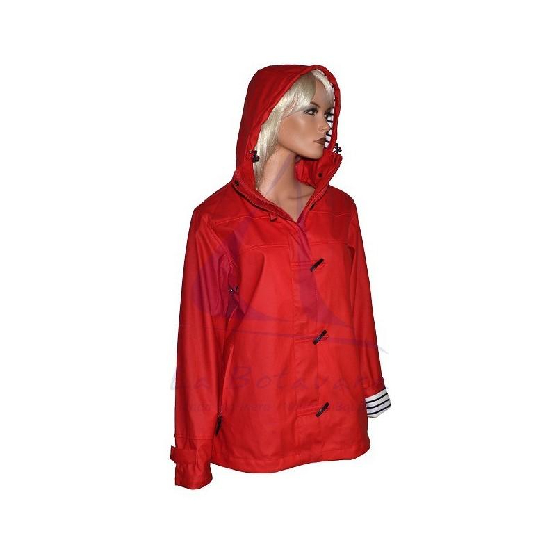 RED BATELA RAINCOAT FOR WOMAN