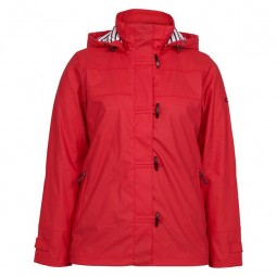 RED BATELA RAINCOAT FOR WOMAN