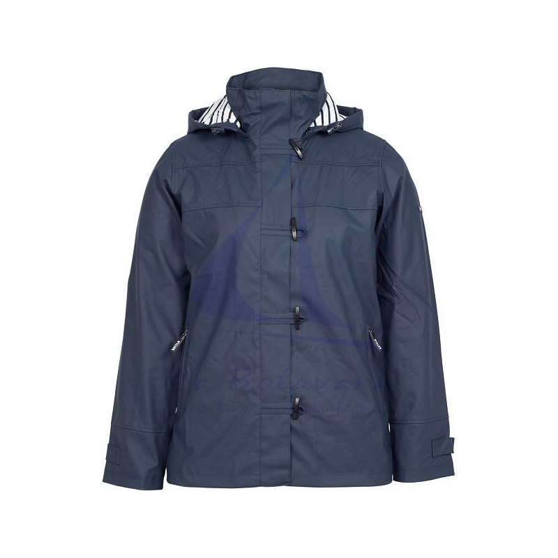 NAVY BATELA RAINCOAT FOR WOMAN